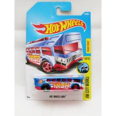 Hotwheels Hot Wheels High - biru