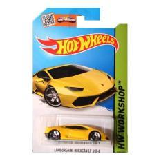 Hotwheels Lamborghini Huracan - Kuning
