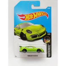 Hotwheels Porsche 911 GT3 RS - hijau