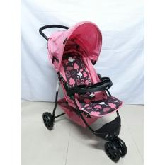 Hugo Starlight - Baby Stroller/Kereta Dorong bayi - Pink