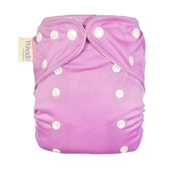 Harga Terbaru Pokado Snap Popok Kain Cuci Ulang - Cloth Diapers Polos Pink