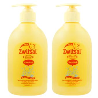 Zwitsal Baby Bath Classis 300ml - 2 Pcs