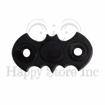 Happy Fidget Spinner Batman Hand Toys Mainan EDC Ceramic Ball Focus Games - Black. >>>>
