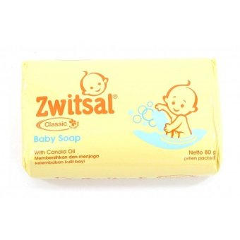 Zwitsal Classic Baby Soap with Canola Oil - 80 gr?