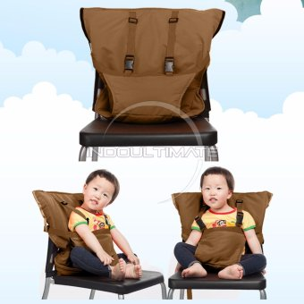 Ultimate Pengaman Duduk Bayi Universal / Portable Baby safety chair cover sack n seat SC-11 - Brown