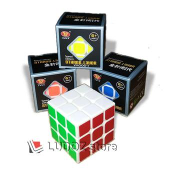 Rubik 3x3 SPEED Edition White Base VVGOO I Round Ed Edge ORI Yong Jun