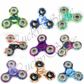 Harga Lucky – Fidget Spinner Hand SpinnerToys Focus Games MOTIF / CAMO / BENDERA Mainan Spinner Tangan Penghilang Kebiasan Buruk – Random Colour – 1 Pcs Murah