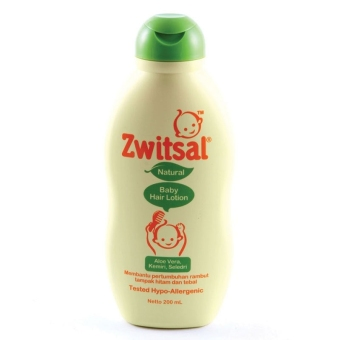 Zwitsal Baby Bath Hair Lotion Natural AVKS 200ml - ZBB027