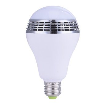 High Quality 1byone Wireless Bluetooth 4.0 Speaker Dimmable Multicolored LED Light Bulb - intl