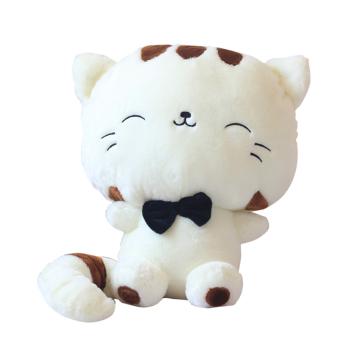 ... harga Mewah kecil mainan boneka bantal kucing lucu boneka bantal dengan Fortune ekor krem Lazada