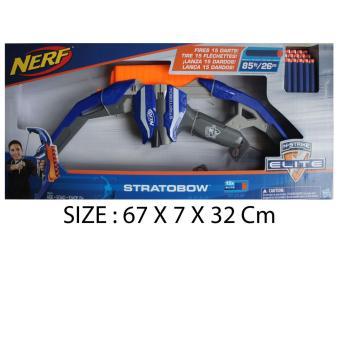 TSH Target Sasaran Tembak Pistol Nerf Dart Target 6 pc Set NERF STRATOBOW .