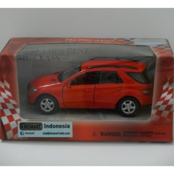Die Cast Metal - Kinsmart - Mercedes Benz ML-Class Merah