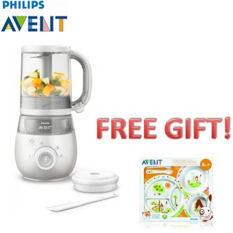harga Philips Avent Scf875/02 4-In-1 Healthy Baby Food Maker (Free Philips Avent Feeding Set) Lazada.co.id