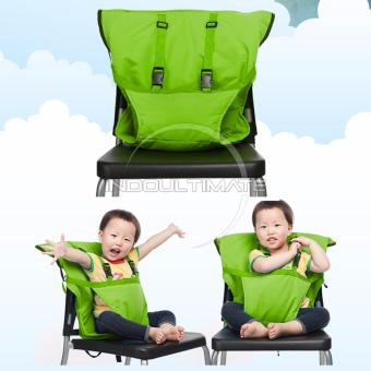 Ultimate Pengaman Duduk Bayi Universal / Portable Baby safety chair cover sack n seat SC-11 - Green