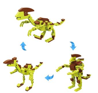 harga Cogo Dino Saurolophus 3 in 1 3008-6 - Mainan Edukasi Block Dinosaurus Saurolophus Lazada.co.id