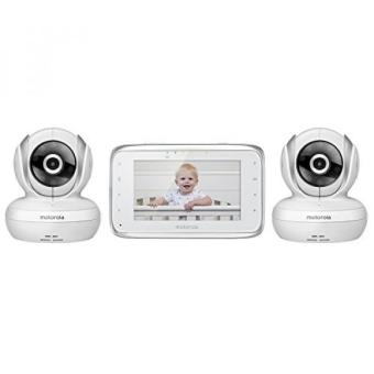 GPL/ Motorola MBP38S-2 Digital Video Baby Monitor with 4.3-Inch Color LCD Screen and 2 Cameras with Remote Pan, Tilt and Zoom/ship from USA - intl