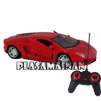AA Toys Imitation Racing Car Model Lambirghini Merah 118 BO - Mainan Mobil Remote Control Racing. >>>>