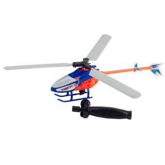 MOMO Toys Police Zoom Copter - Mainan Helikopter Tarik