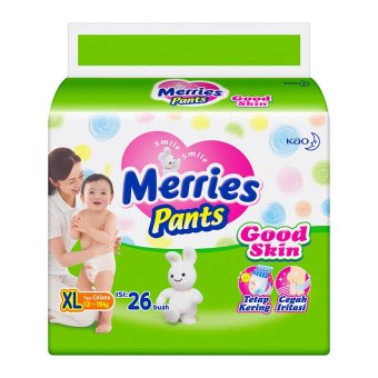 Harga Merries Pants Good Skin XL – Isi 26 Murah