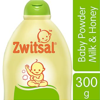 Zwitsal Baby Powder Natural dengan Milk & Honey - 300gr