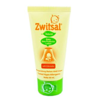 Zwitsal Natural Baby Skin Protector Lotion 50Ml Tub