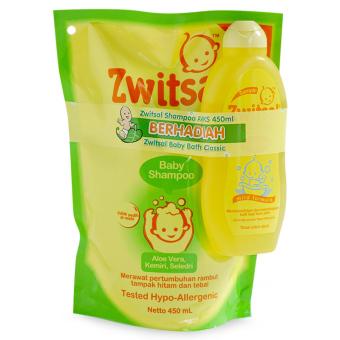 Zwitsal Baby Shampoo AVKS 450ml free bath classic - BZP006