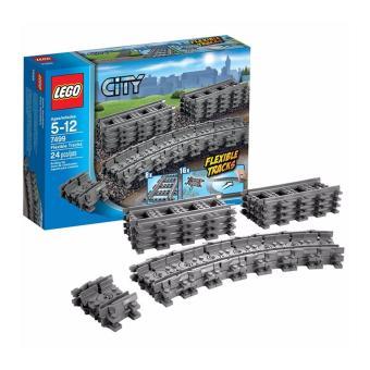 ... Lego City 7499 Flexible and Straight Tracks