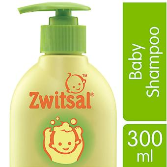 Zwitsal Baby Shampoo Natural Avks - Pump - 300mL