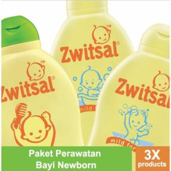 Paket Perawatan Bayi Newborn: Sabun, Shampoo Zwitsal Classic & Hair Lotion AVKS 100ml
