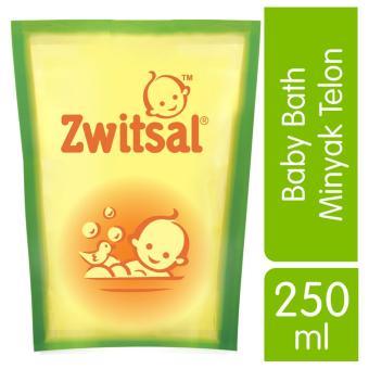 Zwitsal Natural Baby Bath 2in1 Minyak Telon 250ml Refill