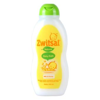 Zwitsal Natural Baby Bath Milk & Honey 200Ml Tub