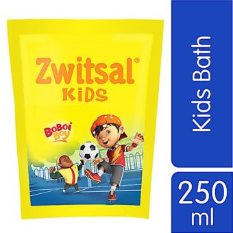 Zwitsal Kids Bath Active Blue Refill - Pouch - 250mL