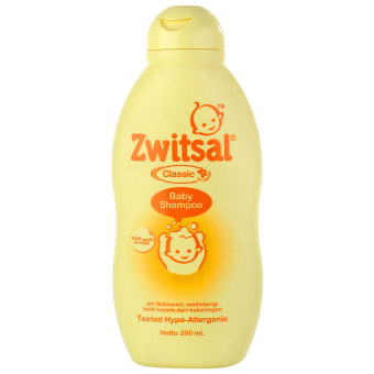Zwitsal Baby Shampoo Classic RL 200ml