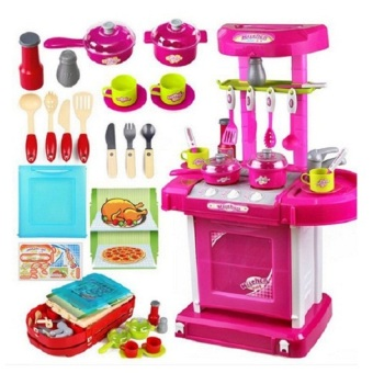 Tomindo Kitchen Pink Koper 008
