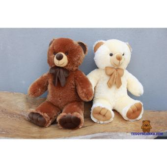 Boneka Teddy Bear Boy Kemeja Rompi 50cm Bn50001 - Daftar Harga Barang Indonesia