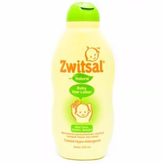 Zwitsal Hair Lotion Natural Aloe Vera 200 ml