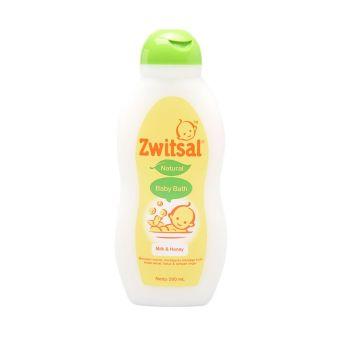 Zwitsal Baby Bath Natural Milk and Honey 200ml - ZBB005