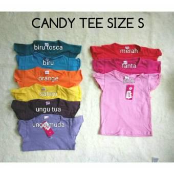 Kaos Bayi Baby Candy Tee Polos Biru M Lazada Indonesia Source · Harga Universal Baby Candy
