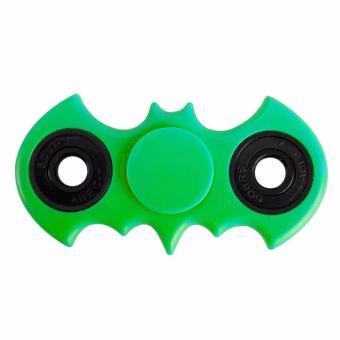 Fidget Spinner Batman Hand Toys Mainan EDC Ceramic Ball Focus Games Bartman - Hijau