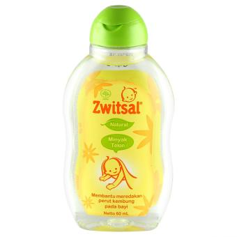 Zwitsal Baby Natural Minyak Telon 60Ml