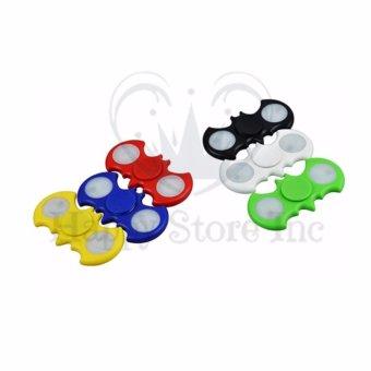 Happy BATMAN LED Fidget Spinner Hand Spinner Hand Toys Focus Games Mainan Spiner Tangan Penghilang Kebiasan. >>>>