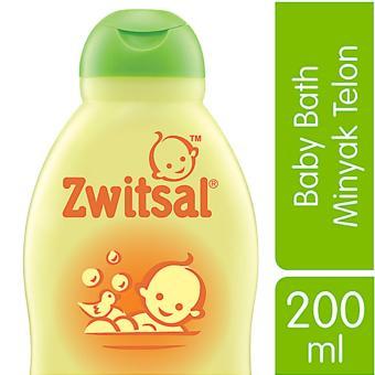 Zwitsal Baby Bath Natural dengan Minyak Telon - 200mL
