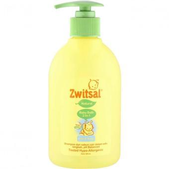 Zwitsal Baby Bath Natural 2in1 Hair & Body Pump 300ml