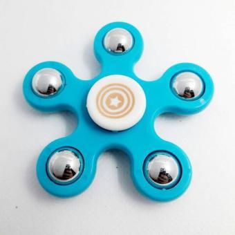 Fidget Spinner Hand Toys Focus Games / Mainan Spinner Tangan Penghilang Kebiasan Buruk – Random Colour