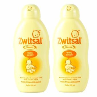 Zwitsal Baby Lotion Classic 200ml - 2 Pcs