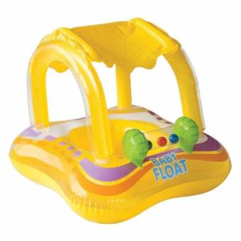 Intex Inflatable Baby Float Boat Kuning Pelampung Renang anak1 2 Thaun .