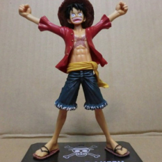 Japaness Anime One Piece New World Luffy Figures Collection 15cm MONKEY.D.LUFFY