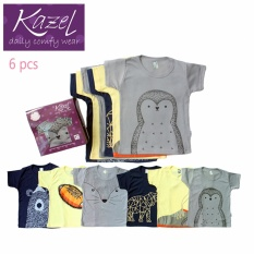 Kazel Tshirt Penguin Edition isi 6 pcs - XL