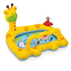 Kolam Renang Bayi Intex Smiley Giraffe Baby Pool 57105