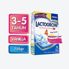 LACTOGROW HAPPYNUTRI 4 Vanilla Box 750g